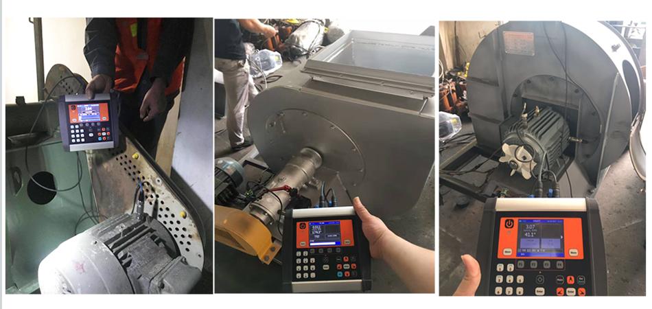 CXBalancer动平衡仪应用于风机